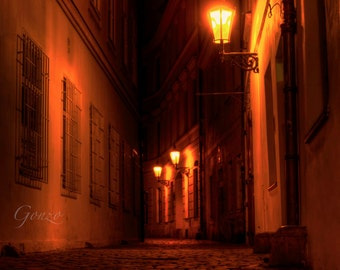 Dark Alley, Prague
