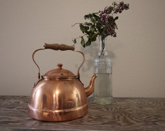 Copper Tea Kettle #10