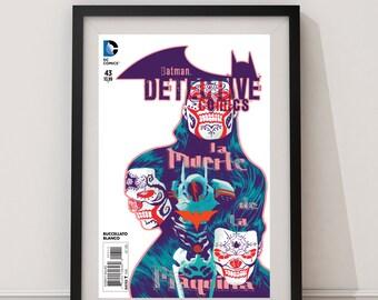 """LARGE Batman Detective Comics #43, """"La Muerte de la Maquina"""" / DC Comics / DC Universe / Batman Comic Book / Spanish Batman/Latin Comic Book"""