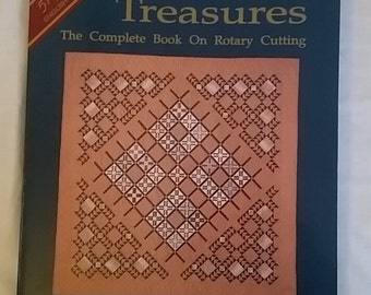 Quilting Book - Timeless Treasures: The Complete Book on Rotary Cutting