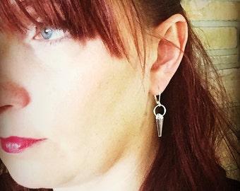 Swarovski Crystal Spike Drop Earring