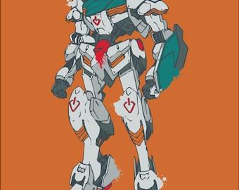 Gundam Spray Paint Patch