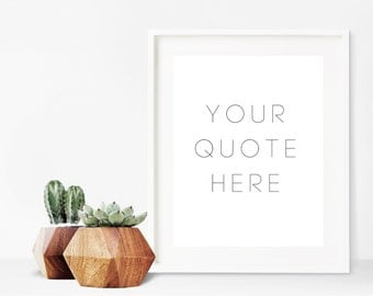 Custom Quote Print, Personalized Printable Art, Custom Inspirational Quote Art, Custom Sign Art Print, Custom Quote Sign, Custom Name