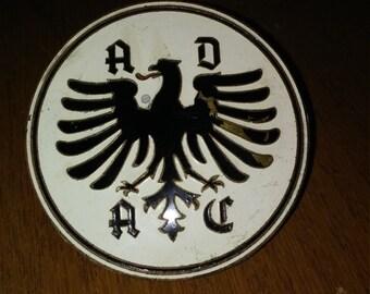 Vintage ADAC radiator badge