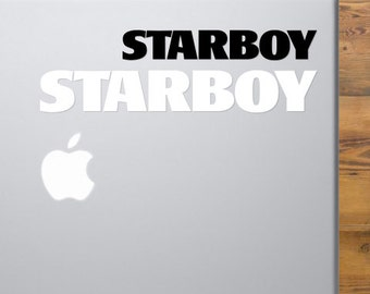 The Weeknd STARBOY Vinyl Decal | The Weeknd | The Weeknd Starboy Sticker