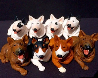 Bull Terrier - Sculptures -Small