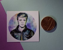 Unique David Bowie Sticker Related Items Etsy