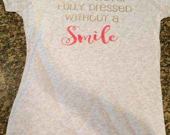 Trendy, cute, quality, smile Tshirt