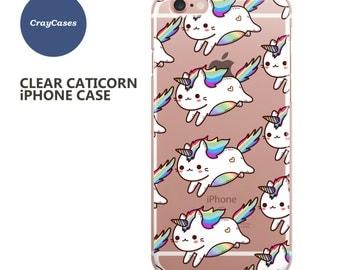 Caticorn iPhone 7 Case, Cat Unicorn iPhone 6s Case, Caticorn iPhone 6 Case, Caticorn iPhone 6/s Plus Case (Shipped From UK)