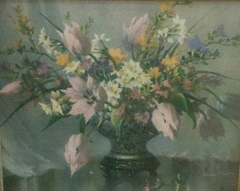 Vintage Signed Print 'Harmony of Spring' Original  by Vernon Ward Interior Design BoutiqueByDanielle