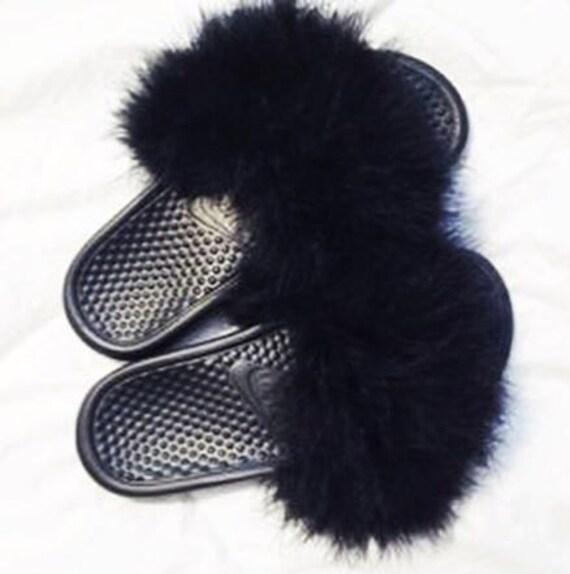 Nike Fur Slides
