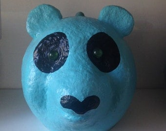 Bear-box design-handmade papier mache