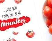 Love Greeting Card / I Love You Card / Digital Download / DIY Printable