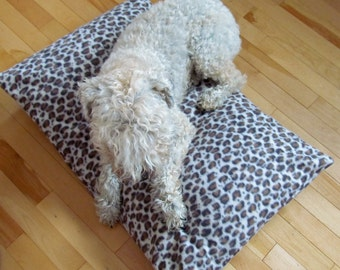 Pet pillow cover, dog bed cover, dog bed pillow, bedding, pet pillow, new pet gift, gift for pet lover, pillow cover, pet bed, washable