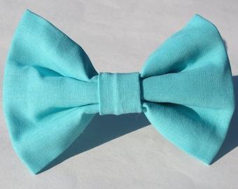 Pacific Blue Bow Tie- Medium