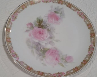 Vintage Z. S. and Co - Bavaria Porcelain Plate
