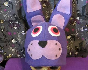 Bonnie Bunny Inspired Costume Hat Top Hat FNAF