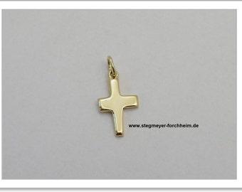 Cross gold 585-Handarbeit-(AKR-1097)
