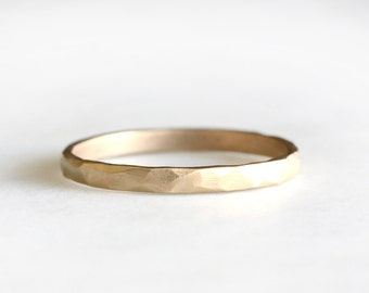 14k gold rustic carved band, 14k gold ring, wedding band, everyday ring, solid recycled 14k gold, wedding ring