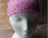 Brains Zombie Horror Halloween Print Cotton/Lycra Stretch Knit Headband
