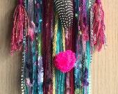 banjara inspired bohemian spirit dreamcatcher