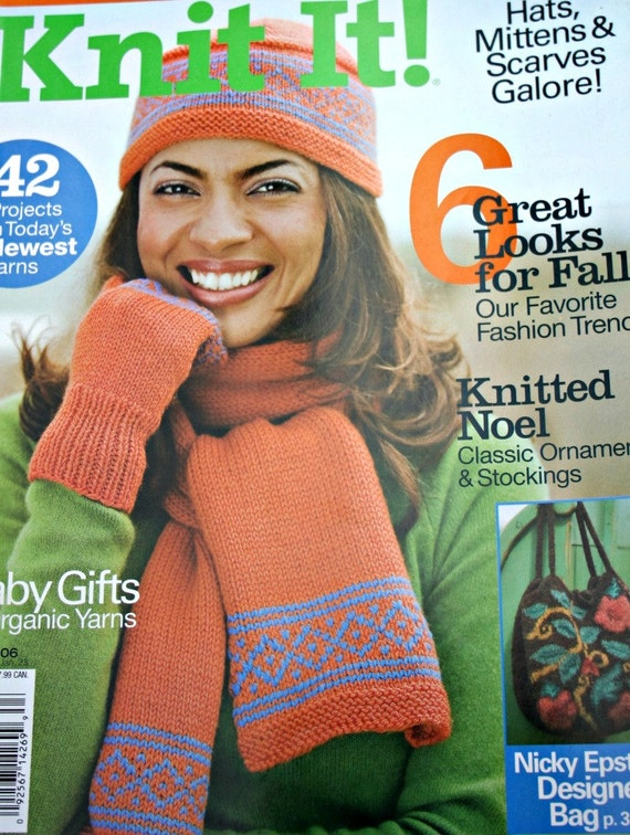 Knitting Patterns Knit It Magazine Fall 2006 Hats Scarves