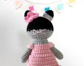 amigurumi plushie toy, crochet cat .. teresa