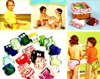 Cloth Diapers Made Easy DYI Pattern and Instruction Book ©2011