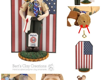 Custom Eagle Scout Cake Topper and Ornament Hybrid DEPOSIT