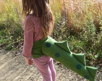 Green Polka Dot Dragon/Dinosaur Costume