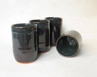 Stoneware Tumblers Set of 4