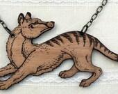 The THYLACINE or Tasmanian Tiger BROOCH