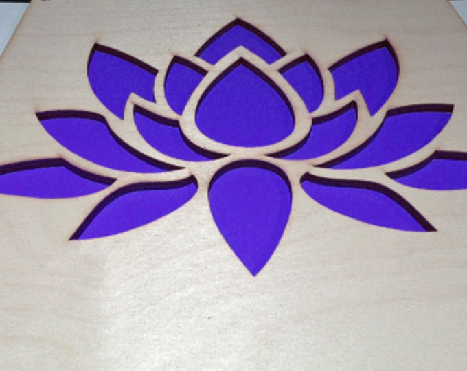 Plywood Lotus and Recycled Aluminum
