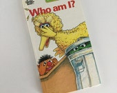 1978 Sesame Street Who Am I? Board Book illustrated by Norman Chartier