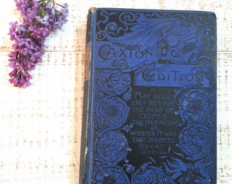 Daniel Webster, Life of Webster, Caxton Edition, VINTAGE, Victorian Book, Samuel M Smucker, Life Speeches and Memorial Of Daniel Webster