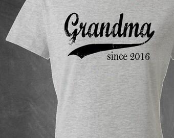 Grandma tshirt, gift for mom, mothers day gift, personalized t shirt, gift for her, gift for grandma, grandmother birthday, mom gift