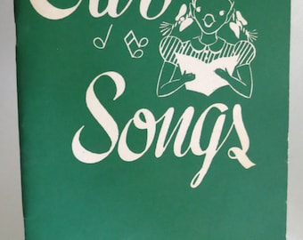 Vintage Songbook - OUR SONGS - Best Loved Songs - Blank Musical Note Pages - 1940s - Music Ephemera