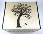 Tree of Life Essential Oil Box, Medium Box, Aromatherapy Storage Box, Essential Oil Case, Aromatherapy Oil Organizer, Oil Display
