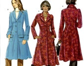 Butterick B5295 Easy Lined Semi-Fitted Coats Size 16 18 20 22 24 Uncut Sewing Pattern 2008