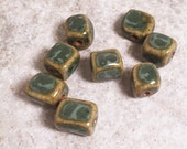 Handmade ceramic beads Porcelain clay beads for jewelry Artisan Beads Plus