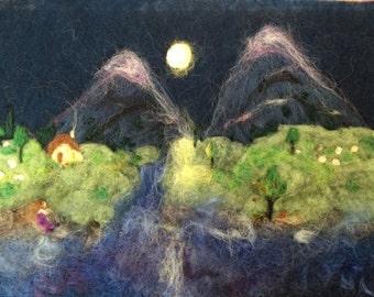 Custom wool paintings