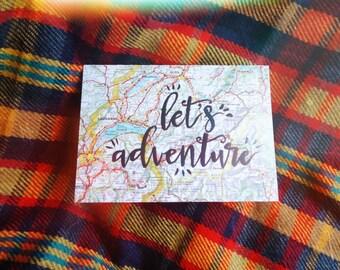 Let's Adventure Card