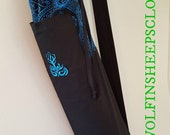 Yoga Mat Bag Blue Gothic