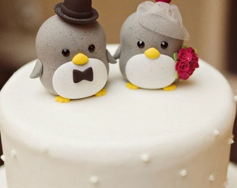 penguin cake topper---Special Edition (K212)