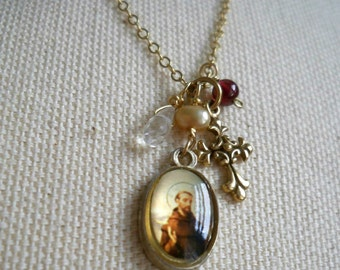 Petite Saint Francis Necklace