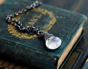 Moonstone Necklace, Gemstone Necklace, Moonstone Pendant, Moonstone Pendant, Gemstone Pendant, Gemstone Jewelry, Rainbow Moonstone, Gift