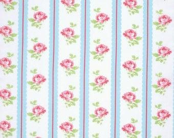 Lulu Roses by Tanya Whelan - Lilah TW096 Sky blue, 1 yard