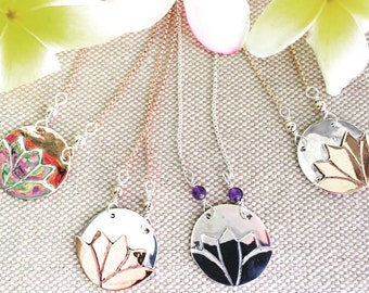 Lotus Necklace ~Rebirth~