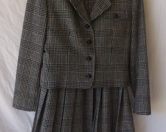 Vintage Pendleton Women's Plaid 2 Piece Suit