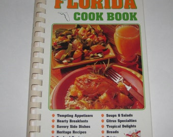 Florida Cook Book 2001 Gulf Coast Heritage Association Key Lime Cuban Black Beans Indian River